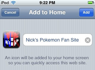 iPhone favicon